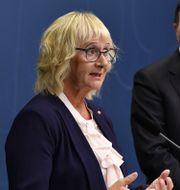 Civilminister Lena Micko, S.  Henrik Montgomery/TT / TT NYHETSBYRÅN