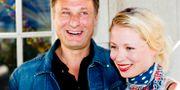 Skådespelarna Michael Nyqvist och Julia Dufvenius på Dramatens höstsamling 2009. CHRISTINE OLSSON / TT / TT NYHETSBYRÅN