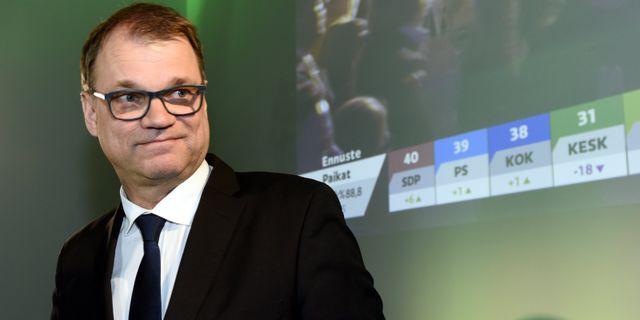 Centerns ledare Juha Sipilä. HEIKKI SAUKKOMAA / Lehtikuva