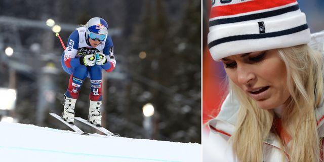 Lindsey Vonn under träningsåket i Åre/arkivbild. TT