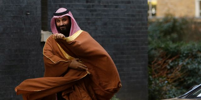 Kronprisen Mohammed bin Salman. Alastair Grant / TT / NTB Scanpix