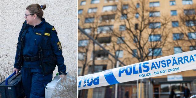 Morden i Sätra inträffade i april i år. TT