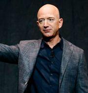 Arkivbild: Amazons grundare Jeff Bezos.  Patrick Semansky / TT NYHETSBYRÅN