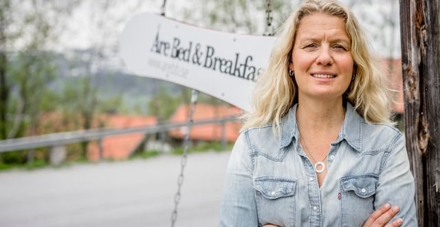 Isabel Hamilton, vd Åre Bed & Breakfast Mats Lind