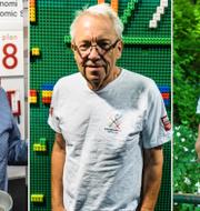 Harry Flam, Hubert Fromlet, Michael Dahlén.  TT