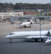Bromma Stockholm Airport.   Fredrik Sandberg/TT / TT NYHETSBYRÅN
