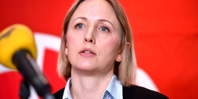 Jytte Guteland (S), en av dem som röstade för direktivet. Naina Helen Jåma/ TT / TT NYHETSBYRÅN