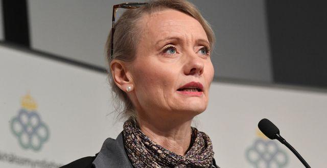 Folkhälsomyndighetens Karin Tegmark Wisell. Arkivbild. Fredrik Sandberg/TT / TT NYHETSBYRÅN
