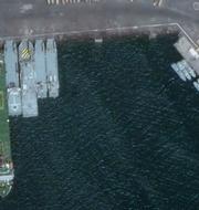 Satellitbild från TV4:s granskning. TV4