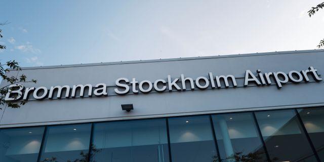 Bromma flygplats. Stina Stjernkvist/TT / TT NYHETSBYRÅN