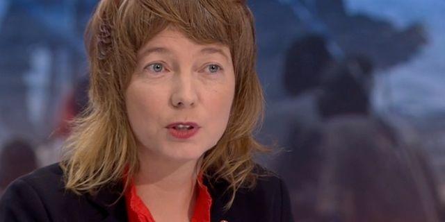 Malin Björk (V). SVT