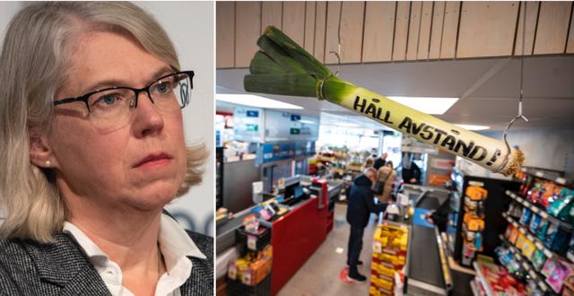 Maria Rotzén Östlund. TT