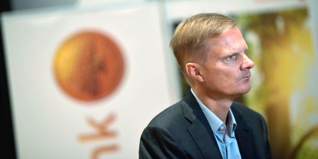 Jens Henriksson, vd för Swedbank.  Pontus Lundahl/TT / TT NYHETSBYRÅN