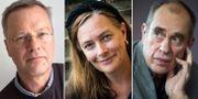 Svante Weyler, Sophia Artin och Jörn Donner. TT