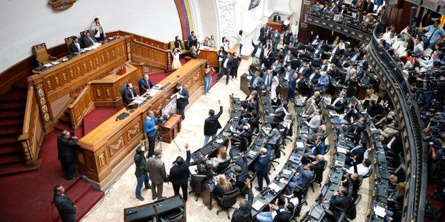 Beslutet fattades av Venezuelas kongress STRINGER / TT NYHETSBYRÅN
