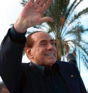 Silvio Berlusconi på Sardinien (arkivbild), covid-19-tester på Sardinien, Flavio Briatore. TT