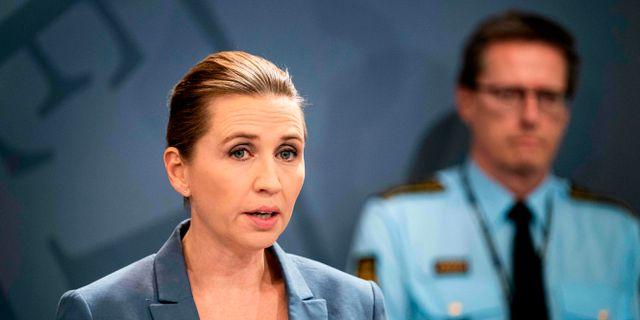 Mette Frederiksen. IDA GULDBAEK ARENTSEN / TT NYHETSBYRÅN