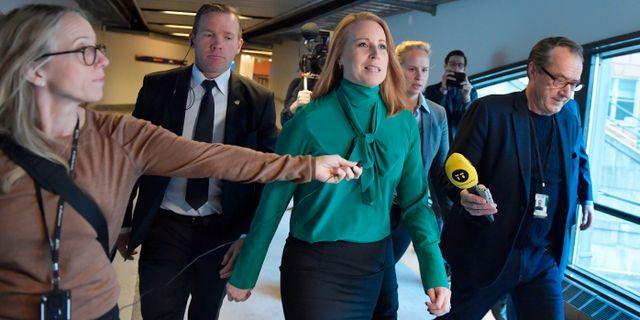 Annie Lööf (C). Jessica Gow/TT / TT NYHETSBYRÅN