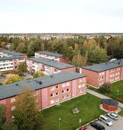 Gottsunda i Uppsala är ett av områdena på listan. Fredrik Sandberg/TT / TT NYHETSBYRÅN