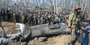 Helikoptern.  TAUSEEF MUSTAFA / AFP