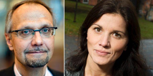 Ulf Bjereld och Jenny Madestam. TT
