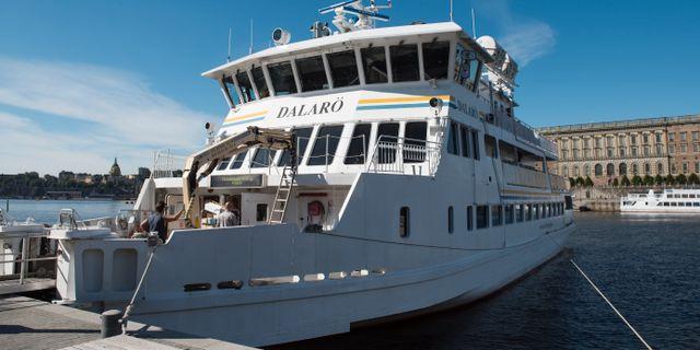 Waxholmsbolagets fartyg Dalarö. Izabelle Nordfjell/TT / TT NYHETSBYRÅN