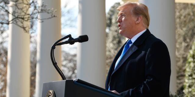 Donald Trump. Susan Walsh / TT NYHETSBYRÅN/ NTB Scanpix