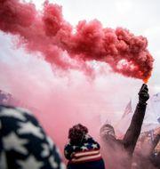 Bild från demonstrationen JOEL MARKLUND / BILDBYRÅN