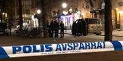 Polis på plats efter detonation i Stockholm i slutet av 2018 PONTUS AHLKVIST/TT / TT NYHETSBYRÅN