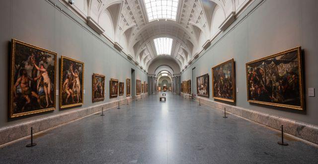 Museet El Prado.  Bernat Armangue / TT NYHETSBYRÅN