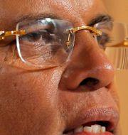 Sri Lankas president Maithripala Sirisena. Eranga Jayawardena / TT NYHETSBYRÅN