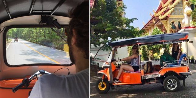 Nystartade Tuk Tuk Club erbjuder körlektioner och roadtrips med tuk-tukar utanför Chiang Mai. TripAdvisor