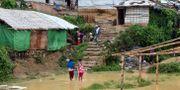 Flyktinglägret Chakmarkul i Cox's Bazar, Bangladesh.  Kristiana Marton/Save the Children/HANDOUT / TT NYHETSBYRÅN