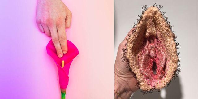 """""""Jag vill att folk ska fatta att vaginor är normala och inget att skämmas för"""", säger Florence Schechter, kvinnan bakom nya Vagina Museum i London. Getty / Instagram @lauraleeburch"""
