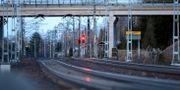 Rött ljus i Nässjö. Mikael Fritzon / TT NYHETSBYRÅN