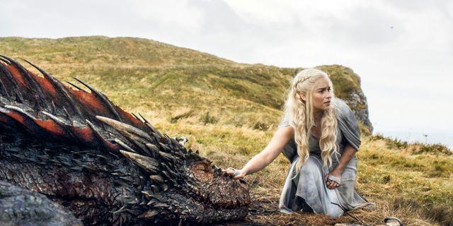 Emilia Clarkes karaktär Daenerys Targaryen. TT / NTB Scanpix