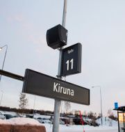 Kirunas tågstation. Arkivbild.  Karin Wesslén/TT / TT NYHETSBYRÅN