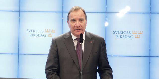 Stefan Löfven.  Sören Andersson/TT / TT NYHETSBYRÅN