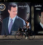 Valaffischer i Damaskus. Hassan Ammar / TT NYHETSBYRÅN
