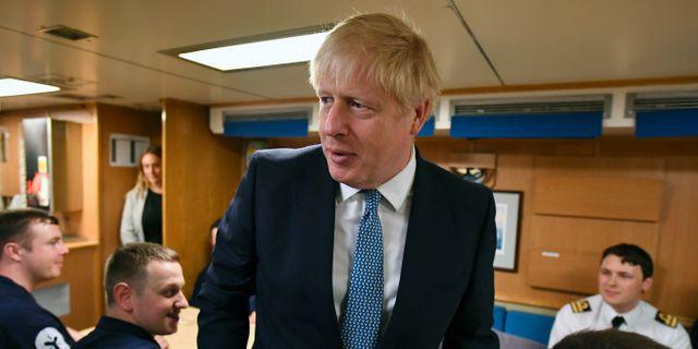 Boris Johnson. Jeff J Mitchell / TT NYHETSBYRÅN/ NTB Scanpix