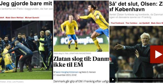 Danska tidningar på nätet. TT