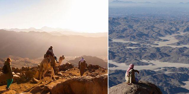 2015 började tre lokala folkstammar arrangera vandringsturer för turister på Sinaihalvön – nu kommer konceptet till Hurghada. Thinkstock / Red Sea Mountain Trail