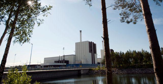 Arkiv. Forsmarks kärnkraftverk.  FREDRIK SANDBERG / TT / TT NYHETSBYRÅN