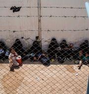 Kvinnor och barn i IS-lägret al-Hol Baderkhan Ahmad / TT NYHETSBYRÅN