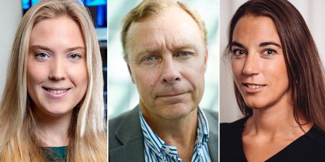 Från vänster: Helen Broman, Peter Malmqvist och Johanna Kull.