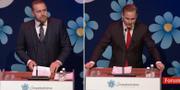 Mattias Karlsson och Henrik Vinge SVT