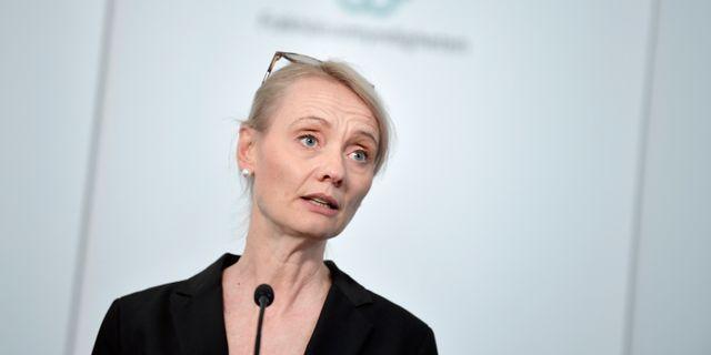 Karin Tegmark Wisell . Pontus Lundahl/TT / TT NYHETSBYRÅN