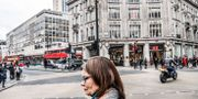 H&M på Londons mest kända shoppingata Oxford Street. Tomas Oneborg/SvD/TT / TT NYHETSBYRÅN