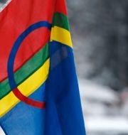 Samisk flagga Eeg, Jon / TT NYHETSBYRÅN