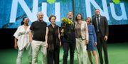 Delar av Miljöpartiet vid partiets kongress i Västerås. Peter Krüger/TT / TT NYHETSBYRÅN